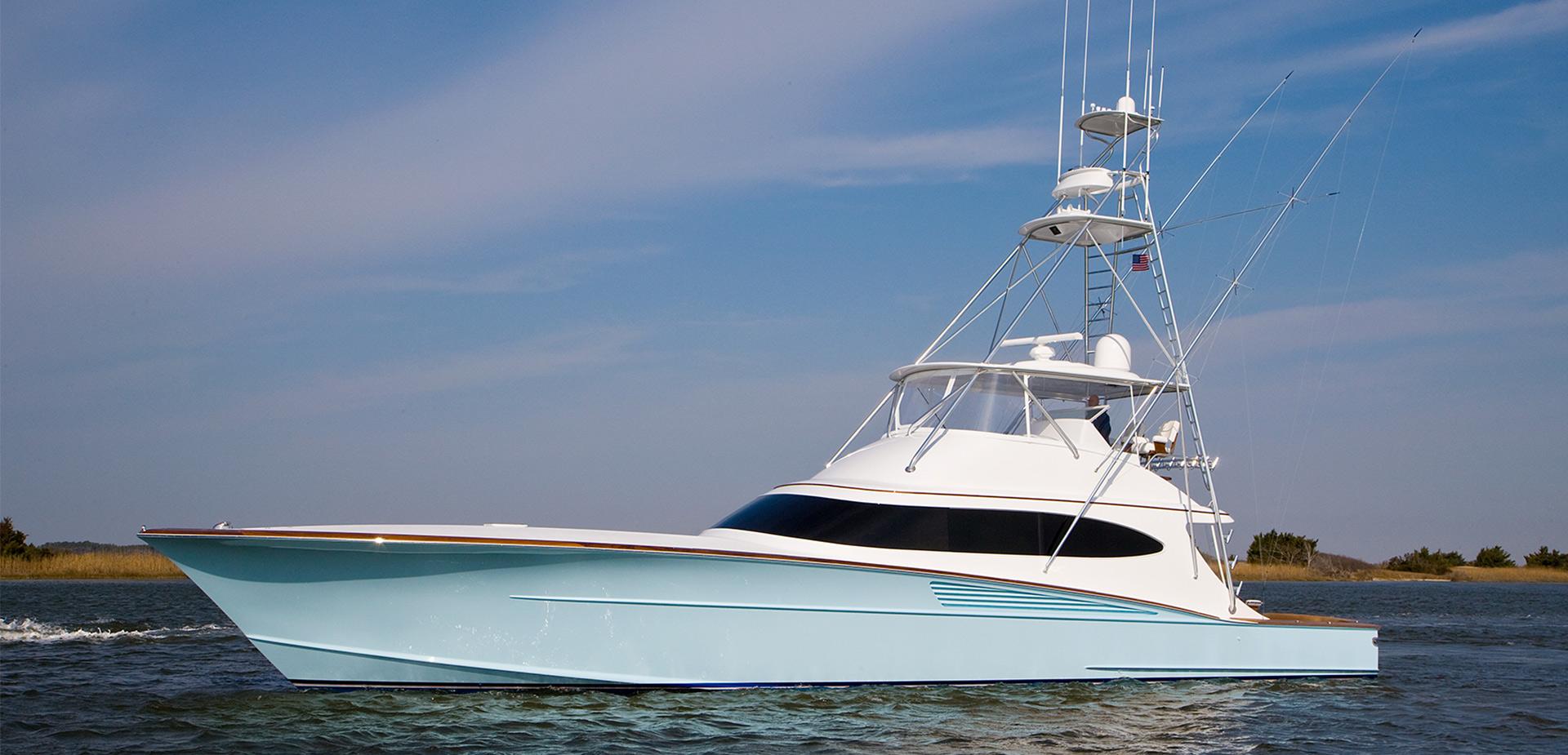 Bayliss 67 Stacked Up Custom Sportfishing Boat